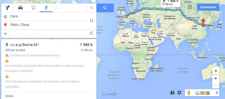 Paris Pekin Google.